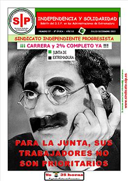 Boletín Independencia y Solidaridad - Nº 57