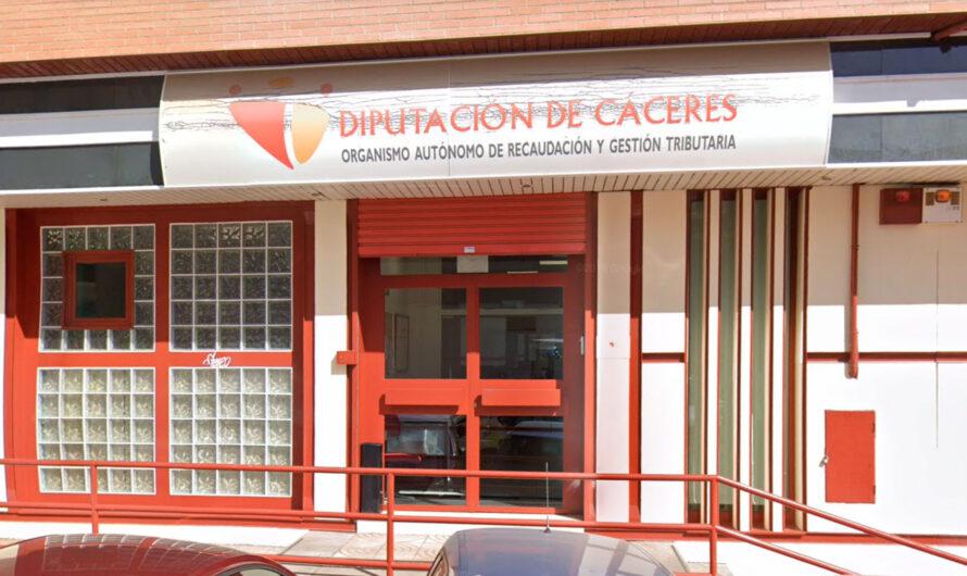 Corrección error oferta empleo público 2020 OARGT Diputación Cáceres